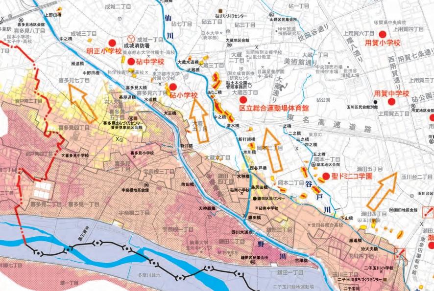 横浜 市 鶴見 区 ハザード マップ